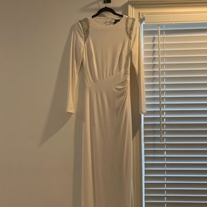 Ralph Lauren Evening White Dress OBO
